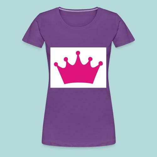 crown - Women's Premium T-Shirt