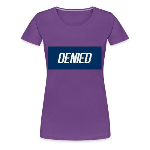 DENIED blauw - Women's Premium T-Shirt