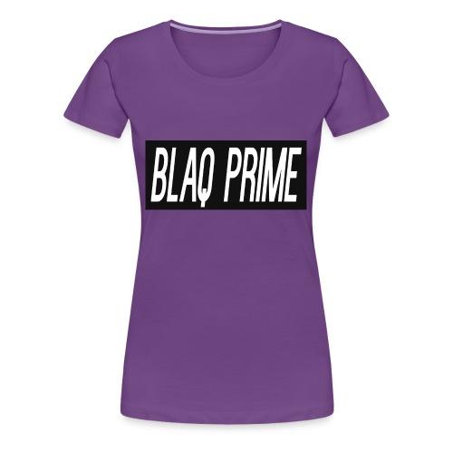 Blaq Prime Box Logo - Women's Premium T-Shirt