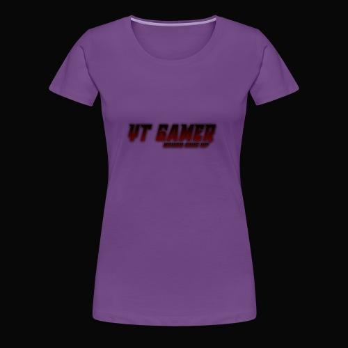 never give - Women's Premium T-Shirt