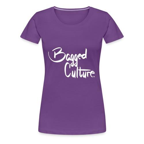 Bagged Culture white - Women's Premium T-Shirt