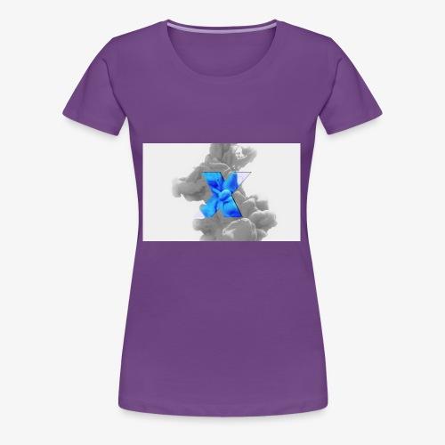 Grey smoke - Women's Premium T-Shirt