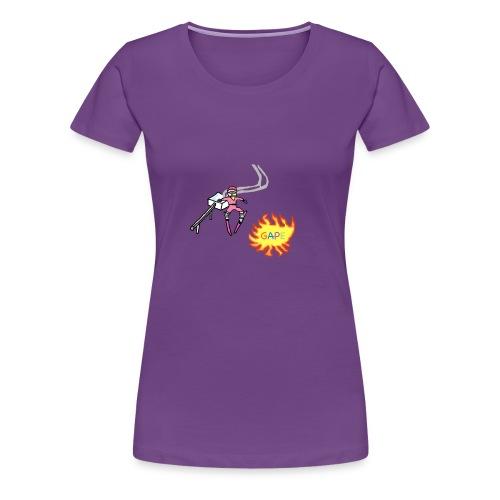 Gape Hoodie - Women's Premium T-Shirt