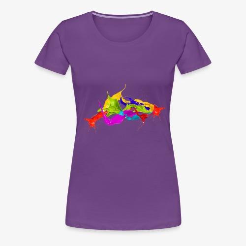 Paint Flow - Women's Premium T-Shirt