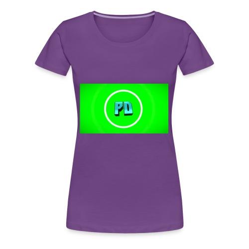 PD Green - Women's Premium T-Shirt