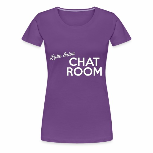 LOCR Logo White - Women's Premium T-Shirt