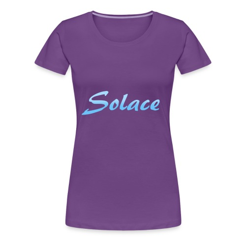 Solace Full Text - Women's Premium T-Shirt