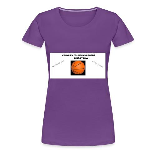 Crowley County School - Women's Premium T-Shirt