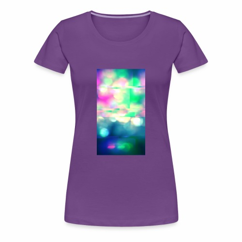 Glitchy Photography - Women's Premium T-Shirt