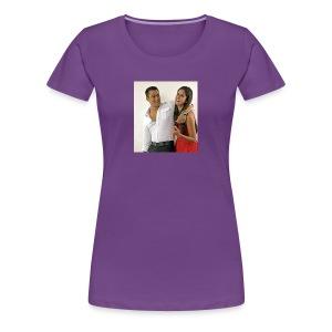 Salman khan and katrina kaif beat photo t-shirt - Women's Premium T-Shirt