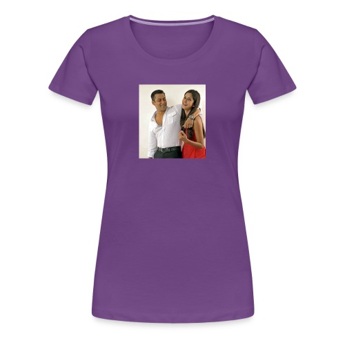 Salman khan and katrina kaif beat photo t-shirt - Women's Premium T-Shirt