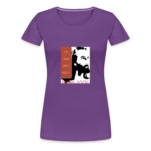 Easter, April Fool's, 4/1/18 - Women's Premium T-Shirt