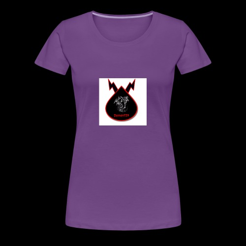 Demon729 logo - Women's Premium T-Shirt