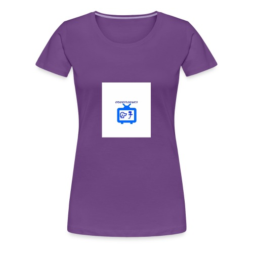 OdogVlogsTv Offical Logo - Women's Premium T-Shirt