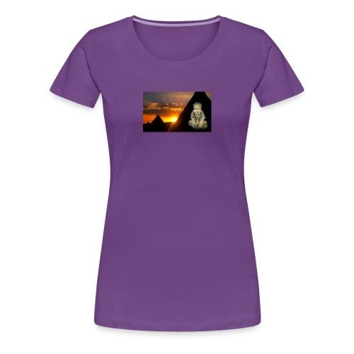 Egyptian Pharaoh Akhenaten - Women's Premium T-Shirt