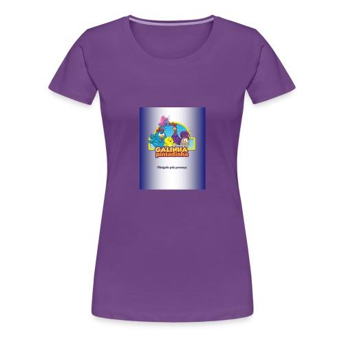 Publicac a o1 pubgalinha pitatinha 2 - Women's Premium T-Shirt