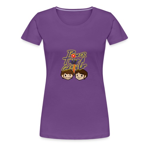 Power Trip Gaming #1 - Women's Premium T-Shirt