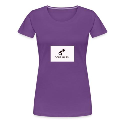 Dope Jules Mic - Women's Premium T-Shirt