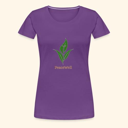 PeaceWell - Support your vendor! - Women's Premium T-Shirt
