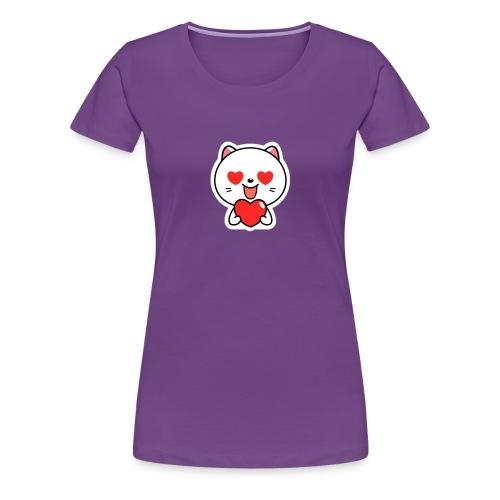 mayo the viber cat 2 by em120xd7ic33y - Women's Premium T-Shirt
