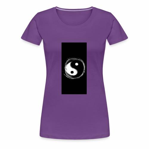 Diamond savage yin yang - Women's Premium T-Shirt