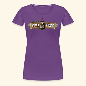 Enchanted Tiki Tees Logo - Women's Premium T-Shirt
