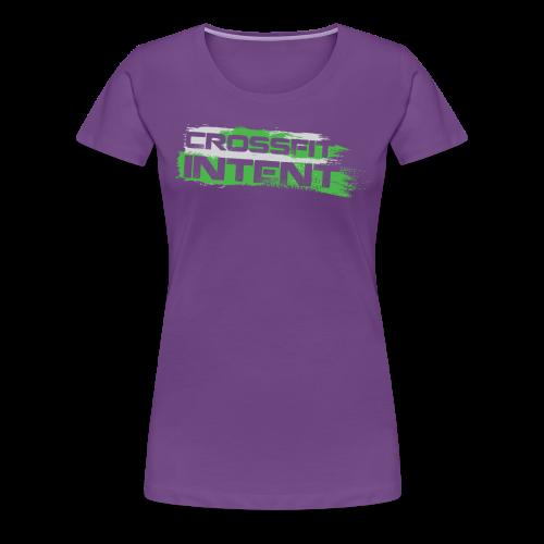 Splatter CFI Logo Trans - Women's Premium T-Shirt