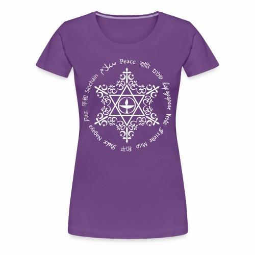 UU world peace - Women's Premium T-Shirt