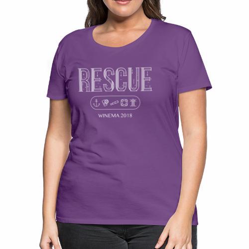 Winema 2nd High School Camp (RESCUE) - Women's Premium T-Shirt