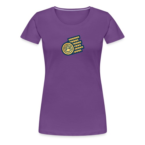 AriseCoin - Stack of Coins - Women's Premium T-Shirt