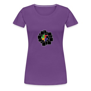 cubes - Women's Premium T-Shirt