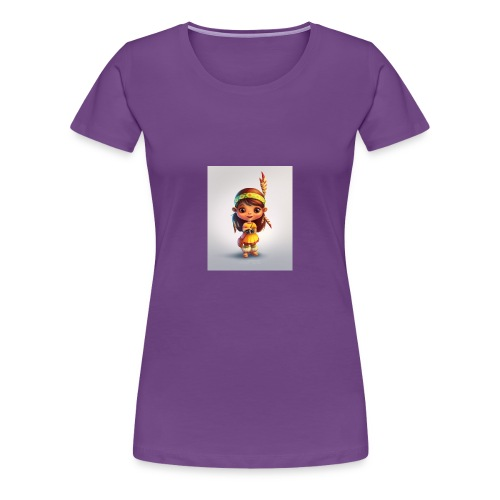 indian girl shirt - Women's Premium T-Shirt