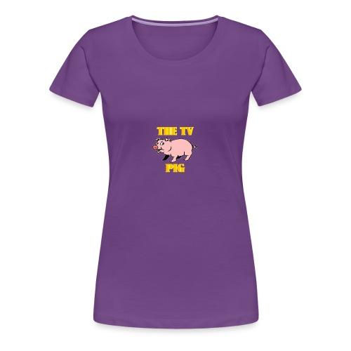 Official TV Pig Merchandise - Women's Premium T-Shirt