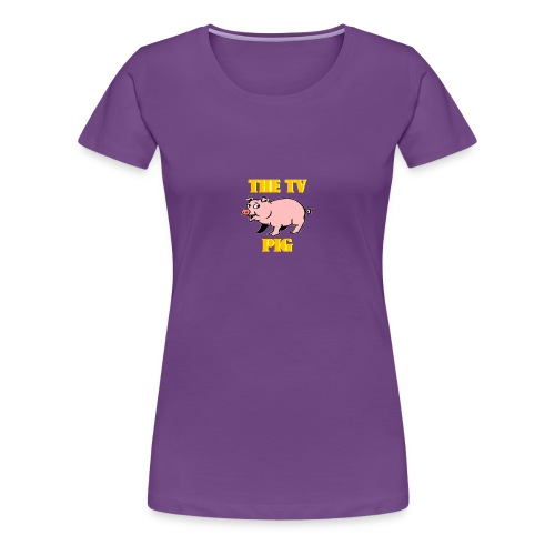 Official TV Pig Merchandise - Women's Premium T-Shirt