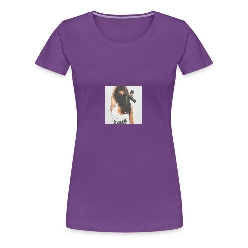 Deadly Woman LOGO - Women's Premium T-Shirt