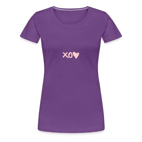 xo <3 - Women's Premium T-Shirt