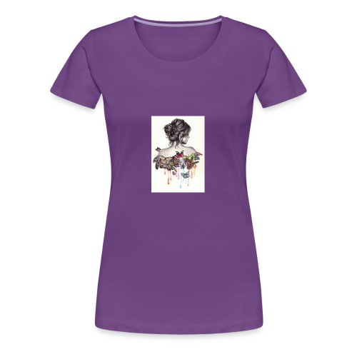 The love that surrounds her - Women's Premium T-Shirt
