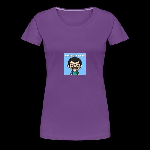 Nathaniel Madrigal - Women's Premium T-Shirt