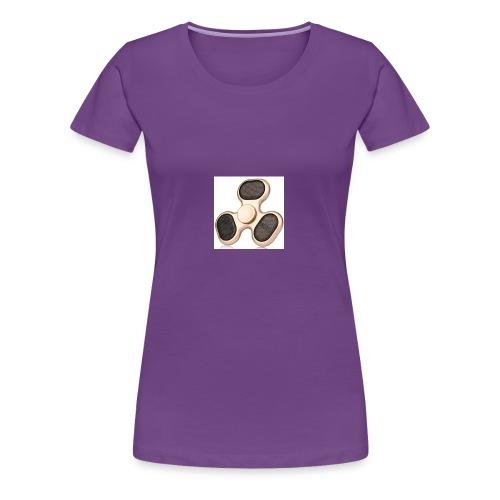 Robiear Clover Fidget Spinner - Women's Premium T-Shirt