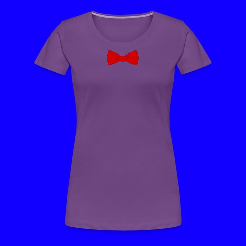 red bow tie - Women's Premium T-Shirt