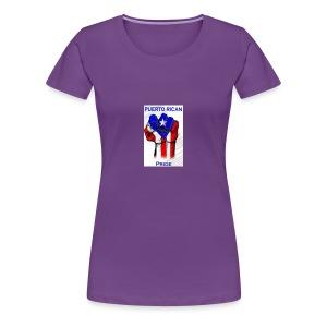 2196b2dd4c9fc916b2008e70219c0a3c puerto rican rec - Women's Premium T-Shirt