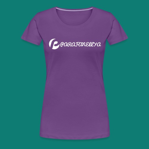 Parafanellya Regal White - Women's Premium T-Shirt