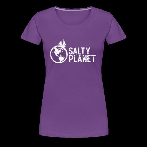 Salty Planet - Women's Premium T-Shirt