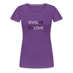Classic Reverse B & W - Women's Premium T-Shirt