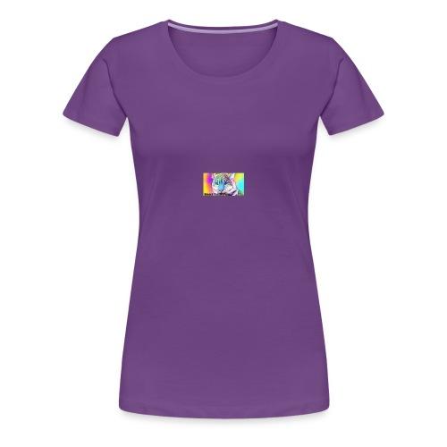 Rainbow Tiger Design Cases - Women's Premium T-Shirt