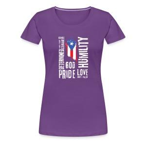 Puerto Rican Identity - Women's Premium T-Shirt