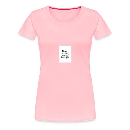 Throw kindness around - Women's Premium T-Shirt