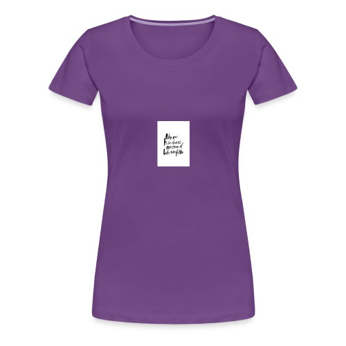 Throw kindness around - Women's Premium T-Shirt