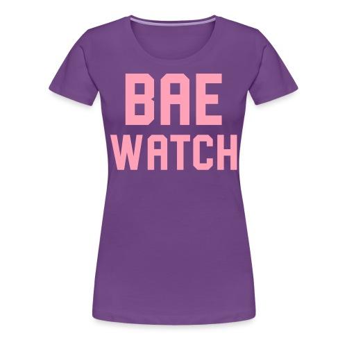 BAE WATCH - Women's Premium T-Shirt