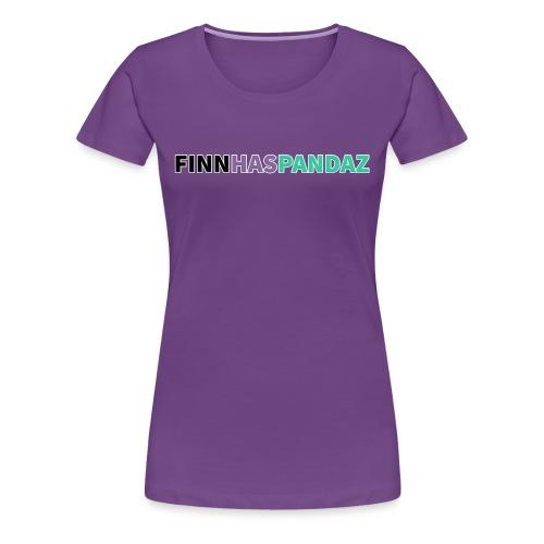 FinnHasPandaz Logo - Women's Premium T-Shirt